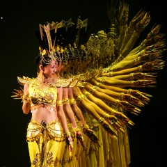 千手觀音是吳思強教授精典作品之一。