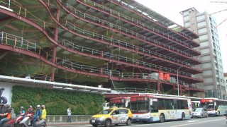 八德立體停車塔上梁 改善周邊交通