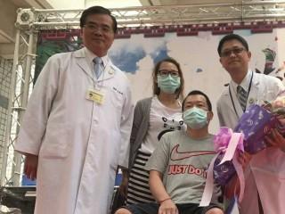 乩童炸傷雙腳下肢,高榮台南分院助逃過植皮手術。