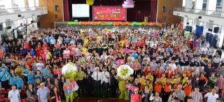 雲林縣政府為感謝台灣燈會期間辛苦付出的志工朋友們,特舉辦感恩茶會,重現雲林人的驕傲。(記者陳昭宗拍攝)