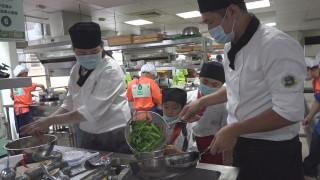 「城市小田園」蔬菜變菜餚 健康午餐大挑戰