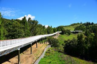 清境高空觀景步道全程1.2公里,風景優美。