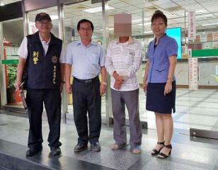 北港警方與金融機構緊密合作,成功攔阻民眾遭受詐騙,守護財產安全。(記者陳昭宗拍攝)