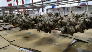 南投仁愛之家今年又送出3400個愛心粽。