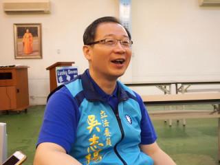 前桃園縣長、現任不分區立法委員吳志揚。