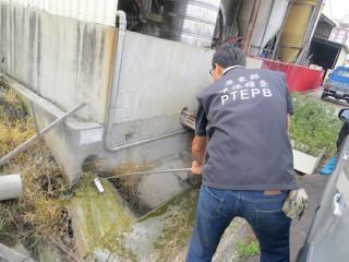 排放水檢測(圖/屏東縣政府環保局提供)