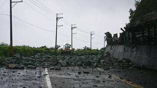 蘇花公路坍方(圖/南澳工務段提供)