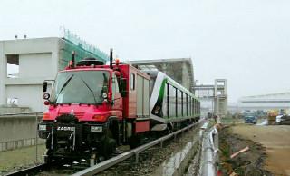 台中捷運引進德國路軌兩用車,乘客安全維護機動性大增