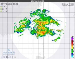 中央氣象局表示,目前觀測鋒面繼續往南可能性不高,但3日晚間可能向北移動,可能為北部帶來明顯雨勢,因此提醒民眾注意瞬間大雨、雷擊及強陣風,山區防坍方、落石、土石流及溪水暴漲,低窪地區防淹水。(圖/中央氣象局)