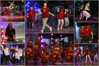 宜蘭十四校聯合舞展,舞出年輕世代的熱情與活力。(圖/記者陳木隆攝)