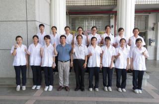 北港巨人綜合高中106年度四技二專衛生護理類統測再度打破全國紀錄,更連續9年奪下全國榜首。(記者陳昭宗拍攝)
