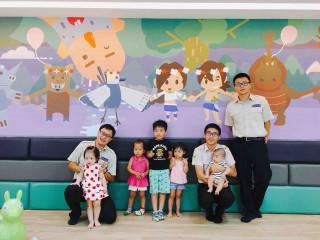 西拉雅風景區山中童話城,中埔遊客中心歡迎大家參與啟用童樂活動〔圖一/西拉雅提供〕