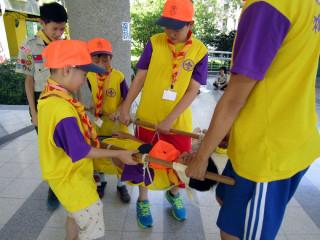 板橋區公所今年暑假將舉辦四梯次「童軍夏令體驗營」活動。(圖/板橋公所提供)