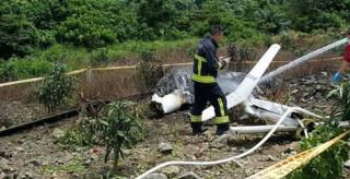 失事直升機無「黑盒子」,飛安會:雷達軌跡也是蒐證方向(圖/豐濱救難義消提供)