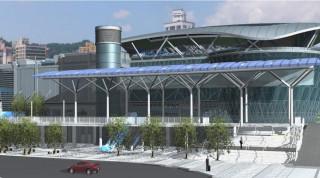 火車站南廣場示意圖