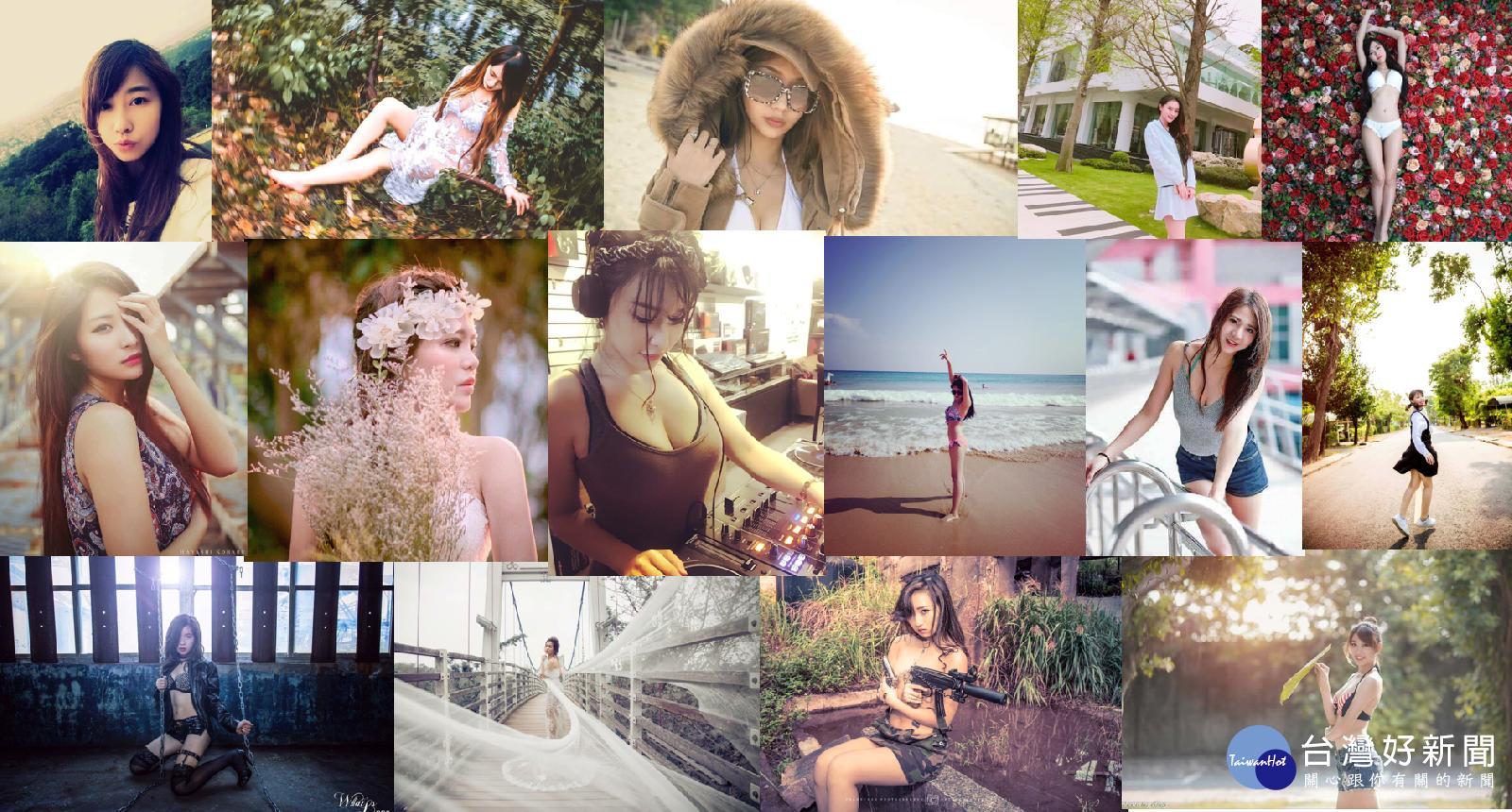 共遊夏日海濱 與20位 model一起外拍趣