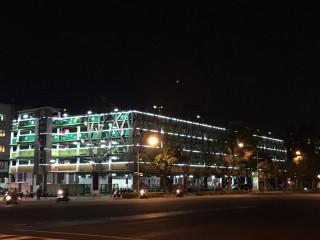 ▲高市民權輕鋼架停車場再升級,更多環保、體貼新設計等您來嘗試。(圖/記者曾憶慈攝)