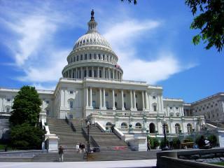 美國國會大廈(圖/取自維基百科)