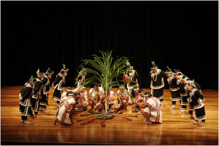 八部合音演唱。(圖/國立傳統藝術中心提供)