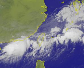 衛星雲圖(圖/中央氣象局提供)