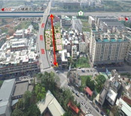 楊梅區校前路交流道道路拓寬工程已竣工,民眾進出五楊高架更方便。