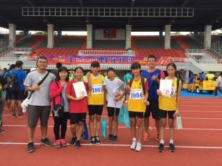 全縣運動會田徑比賽 台東市成績亮眼