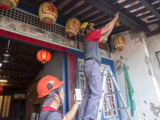 文化部守護鹿港古蹟 99棟老建築進行木構建檢測評估