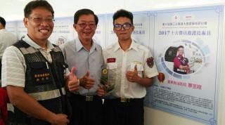全國十大傑出救護技術員(圖/台東縣消防局提供)