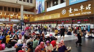 伊斯蘭教開齋節,台北車站湧入5萬穆斯林