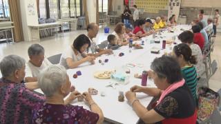 回憶童年時光 昇高社區辦丟沙包比賽