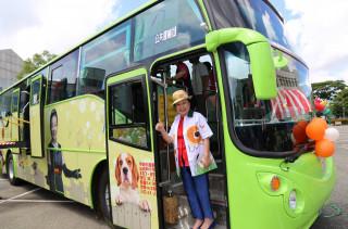 嘉義縣公車處購新車,10輛全新幸福公車啟航!