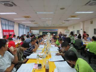 楊梅區擴大里基層建設暨里長里幹事聯繫會報座談會。