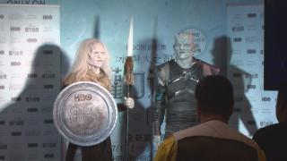 宣傳《冰與火之歌》第七季 劇中角色零距離互動