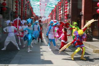 傳藝中心推出暑期強檔「魔幻戲法藝術節」。(圖/記者陳木隆攝)