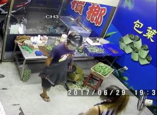 匪徒持刀搶劫檳榔攤 西施機警打開較少抽屜成功保護萬餘元