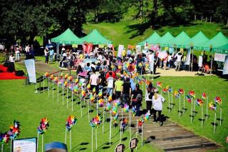 清境農場夏季年度盛事「2017清境風車節」系列活動在暑假的第一天7月1日熱情登場。