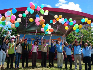 醫藥分業20週年台南市會場,湧入超過8千人。