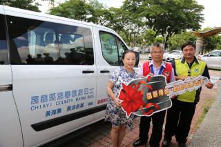 善心人士捐復康巴士,阿里山民眾就醫不再是條遙遠的路!