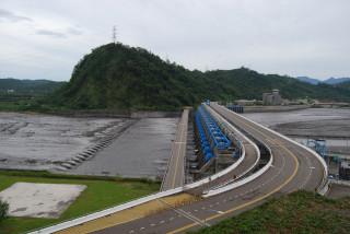 提供雲林、彰化92.5%農業用水的濁水溪集集攔河堰。(圖/擷自經濟部水利署中區水資源局)