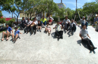綠園道二期啟用 碗公造型溜滑梯亮相