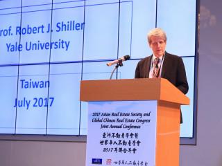 諾貝爾經濟學獎得主席羅勃席勒專題演講