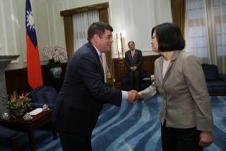 美對台軍售 小英:川普支持台灣國防自主(圖/總統府提供)