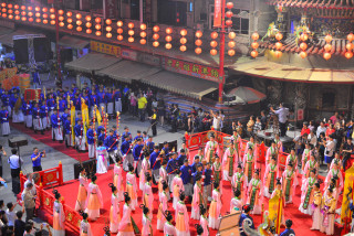 新港奉天宮六佾舞祀典三獻大禮首度移師台中參加媽祖百年盛會