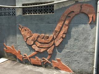 磚雕藝術牆 打造下城社區新風貌