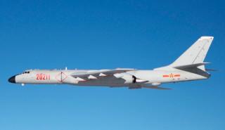 中共又有兩批轟六型轟炸機群13日晨間7時繞台灣外海一圈後返航,不過國防部表示兩批轟六機隊飛航全程均在掌握中,籲請民眾安心。(圖/Wikipedia)