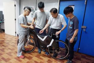 大葉研發3D列印電動輔助設計 自行車輕量化環保省電