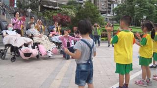 做公益不分年紀 幼兒園陪植物人遊碧潭