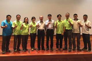 羅東林管處8員工取得國際認證樹藝師資格。(圖/羅東林管處提供)