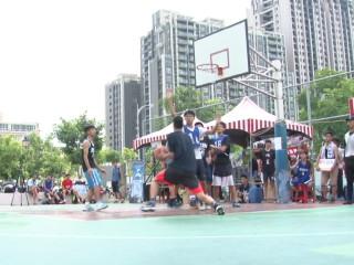 縣警局三對三籃球賽 學生飆球fun暑假