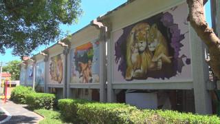 立德里228公園彩繪 美化環境提升藝文氣息